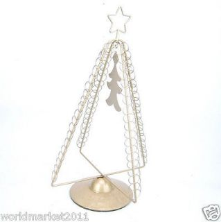 Newly listed New Golden Wrought Iron Christmas Decoration Tree Tower