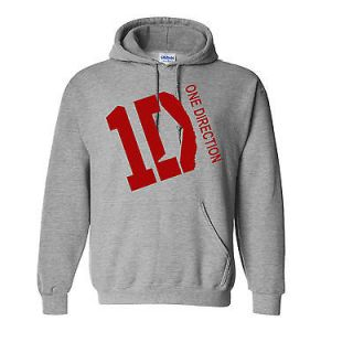 ONE DIRECTION Hooded Sweatshirt 1D British Boy Band Fan Liam Niall