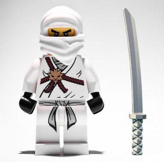 LEGO NINJAGO ZANE MINIFIG figure minifigure ninja go samurai toy