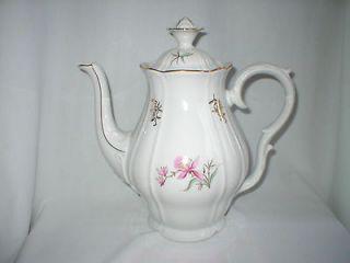 Fine Bohemian China Czechoslovakia Large Teapot