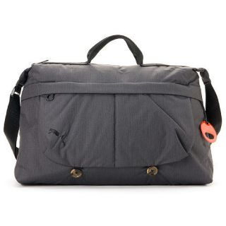 Brand New PUMA Flyers Shoulder Messenger School Bag Dark Gray