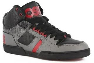 nyc 83 black grey red drips high top not mid shoes winter snow mens