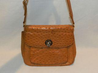 Nice MARK CROSS Osrich Shoulder Bag