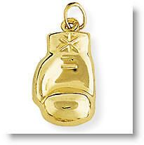 9CT GOLD BOXING GLOVE PENDANT / CHARM. MADE IN ITALY. RRP $125