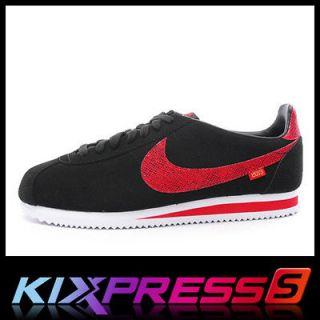 Nike Classic Cortez YOTS [555432 001] NSW Running Snake Black/White