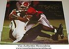 Tyrone Prothro Signed Auto Alabama Football 16x20 Canvas w/The Catch