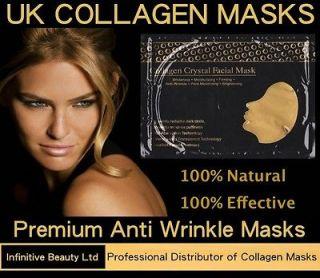 Gold Crystal Face Masks Anti Ageing Skin Care Gold Wrinkles Line