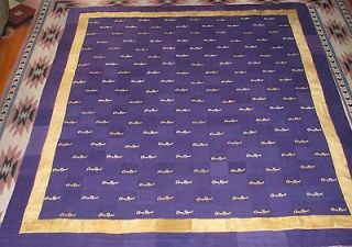 CROWN ROYAL BAG QUILT MADE FROM MORE THAN 160 BAGS