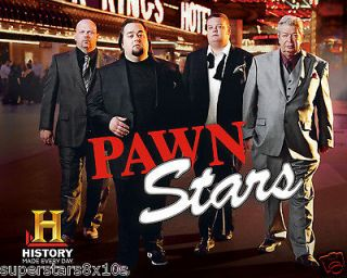 Pawn Stars Richard Harrison Rick Harrison Corey Harrison Chumlee 8x10
