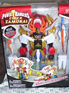 Power Rangers Samurai SAMURAI GIGAZORD Morph Zord to Mega Zord