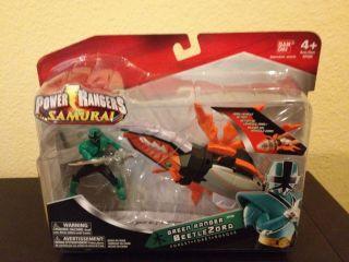 Power Rangers Samurai BEETLEZORD Green Mega Ranger Forest Beetle Zord