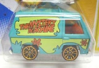 Hot Wheels Team 2012 #38 Scooby Doo Mystery Machine Van New Short Card