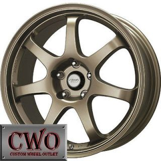 18 Bronze MB Weapon Wheels Rims 5x114.3 5 Lug Mustang 350Z G35 Crown