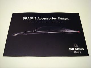 Mercedes . Brabus Accessories Range . 2010 Sales Brochure