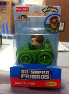 Superfriends Green Lantern Lil Car Toy Mint Unopened