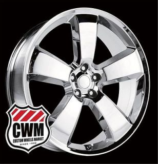 Dodge Charger SRT8 Style Chrome Wheels Rims for Dodge Charger 2009
