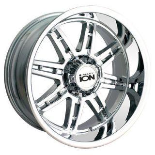 22x14 ION Style 183 Chrome Wheel/Rim(s) 8x170 8 170 22 14