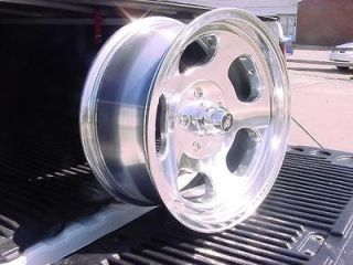 15X7  ANSEN SLOTS MAGS HOT ROD CHEVY FORD GM WHEELS