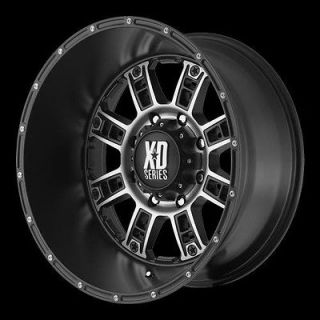 Kmc XD Series XD80920488776N XD809 Wheel 20 x 14 Black 8x180