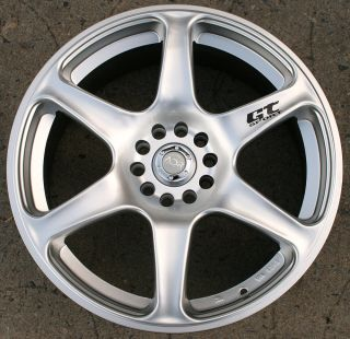 ADR GT SPORT 18 HYPER SILVER RIMS WHEELS MERCEDES E320 CLK320 / 18 X
