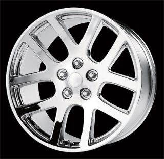 22 22x10 SRT10 Dodge Ram Dakota Durango Wheel Rim Chrome