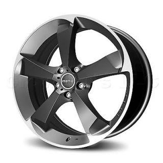 MOMO Car Wheel Rim Drone Anthracite 17 x 7.5 inch 5 on 112 mm