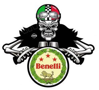 BENELLI SHIELD ITALIAN MOTORCYCLE moto rad bike STICKER