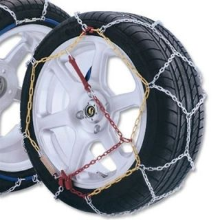 GUDCRAFT HIGH QUALITY CHAIN PASSENGER SNOW CHAINS SIZE 50 TIRE CHAIN A