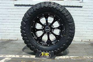 20 BMF Wheels Novakane DEATH METAL Black 35x12.50 20 Toyo MT 35