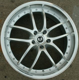 2013 Acura  on Stern Beast St1 20 H Silver Rims Wheels Acura Mdx 01 06   20 X 8 5 5h