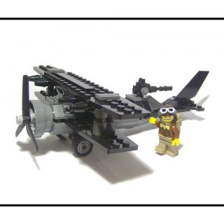 NEW ☆ Lego WWI Airplane Gun Biplane Air Plane And 8803 Series 3