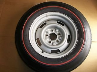1968 Corvette Firestone Wide Oval F70 15 Redline AG Rally Wheel Rally