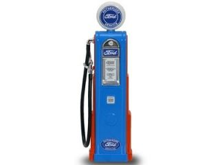 FORD GASOLINE VINTAGE GAS PUMP DIGITAL 1/18 SCALE BY ROAD SIGNATURE