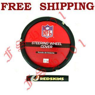 New NFL Washington Redskins Car Truck Steering Wheel Cover
