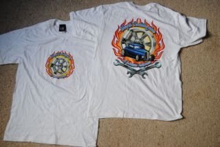 BOYD CODDINGTON BURNING WHEELS T SHIRT NEW HOT ROD