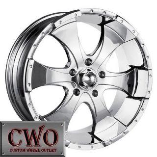 Newly listed 16 Chrome ION 136 Wheels Rims 5x114.3 5 Lug Jeep Wrangler