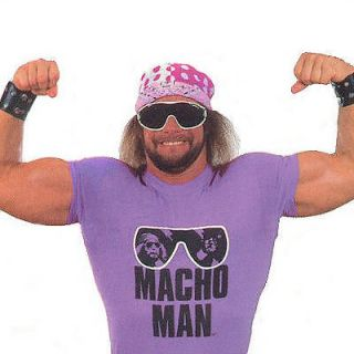 Macho Man RIP vintage style wwf randy savage T Shirt