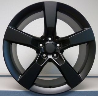 Flat Black 2010 2011 2012 2013 Camaro SS Wheels Rims Set
