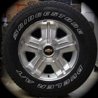 2013 Chevy Z71 Z 71 Silverado Tahoe Suburban Avalanche 18 Wheels Rims