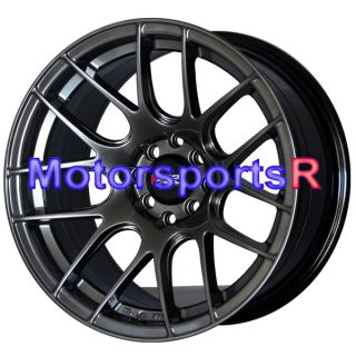 530 Chromium Black Concave Rims Wheels 4x100 84 87 88 90 91 BMW E30