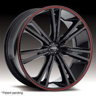 EAGLE BLACK W RED STRIPE MERCEDES 3 SERIES BMW CAMARO WHEELS RIMS