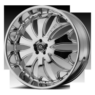 24 Wheels Rims Lorenzo WL29 Chrome Navigator F150 Ford