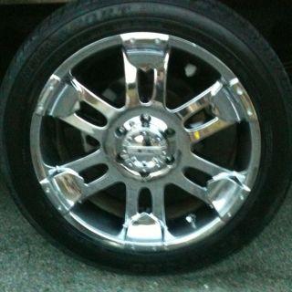 Denali Suburban Silverado Escalade Avalanche 20 Wheels Rims Tires