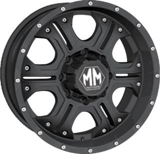 HAVOC 6X135 WITH LT 315 70 17 BFG ALL TERRAIN T A TIRES WHEELS RIMS