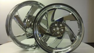 GOLD WING GOLDWING GL 1800 CRUISER GL1800 CHROME WHEEL RIM WHEELS RIMS