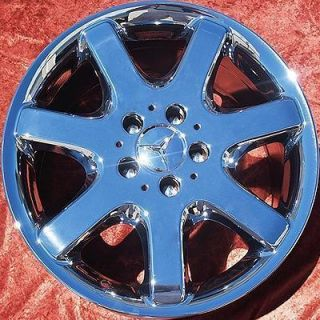 NEW 17 MERCEDES BENZ ML430 ML350 ML500 OEM CHROME WHEELS RIMS 65182