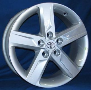 17 Toyota Camry 2012 OE Silver Wheels 4 Rims