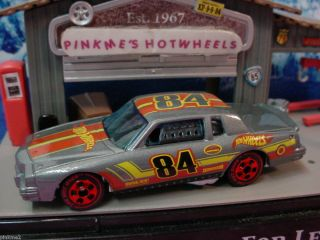 2012 Hot Ones 84 PONTIAC GRAND PRIX 1984 GRAY Redline CHASE Wheels New