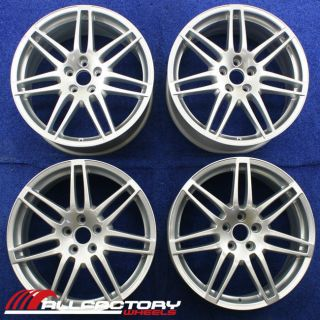 A4 S4 AVANT QUATTRO 19 2009 2010 2011 2012 OEM WHEELS RIMS SET 4 58866