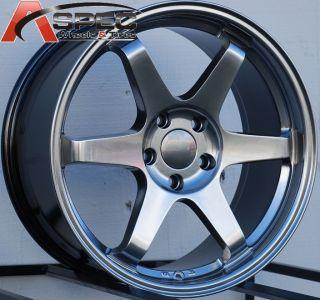 Varrstoen ES221 Wheels 5x100 Rim 45 Fits Subaru WRX 2001 2012